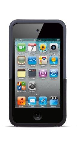 iFrogz iPod Touch 4 Luxe Original Case - Eisen/Schwarz aus Polykarbonat 2-Schalenhuelle samtenes Gefuehl metallische Effekte intensi Ifrogz Luxe Case