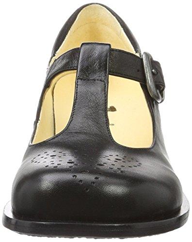 John W. Shoes Klassische Halbschuhe in Schwarz