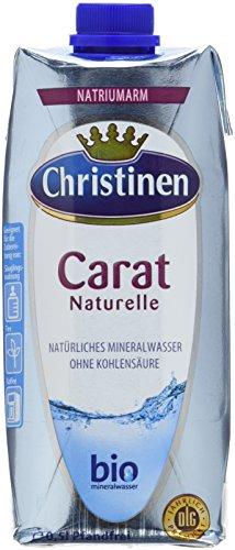 Christinen Carat Mineralwasser, 24er Pack (24 x 500 ml)