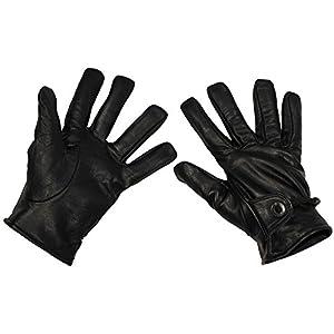 MFH Western-Fingerhandschuhe aus Leder, Farbe: schwarz