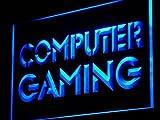 ADV PRO i865-b Computer Gaming Internet Cafe Shop Light Sign Barlicht Neonlicht Lichtwerbung