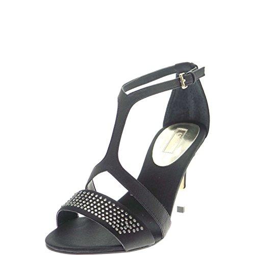 GUESS sandales de femme avec des talons beige FL2DVOSAT03 Noir - Nero