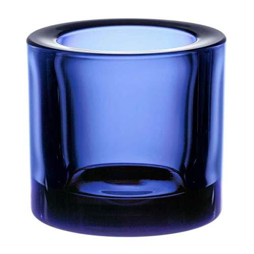 Iittala 1021057 Kivi Teelichthalter ultramarin blau 60mm -