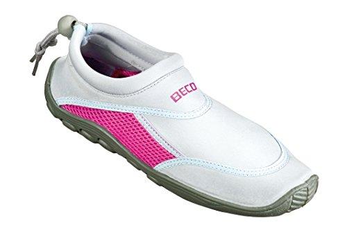 Beco Chaussures de bain Surf gris clair/rose