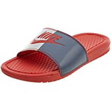 "cheap for discount 05a13 117ed Nike Benassi JDI Just Do It ""Habanero Red"", Chanclas De Mujer"