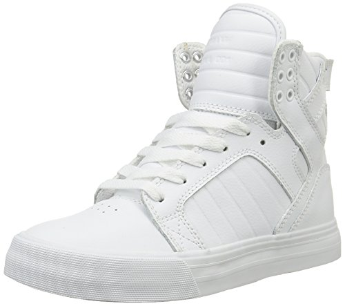 Supra Skytop -  - Baskets Mixte Adulte Blanc (WHITE)