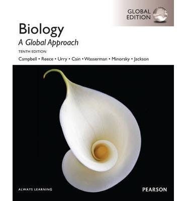Biology: A Global Approach, 10Th Edn Global Edn (9781292008653)