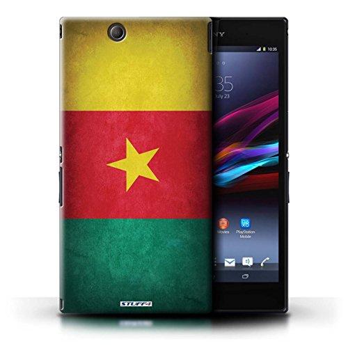 Kobalt® Imprimé Etui / Coque pour Sony Xperia Z Ultra / Suisse conception / Série Drapeau Cameroun