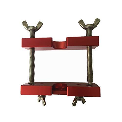 MooKe 1 Stück professionelles Mundstück Puller Trompete Werkzeug, Messing Mundstück Remover Messing Zubehör Instrumente -10X11cm,Rot