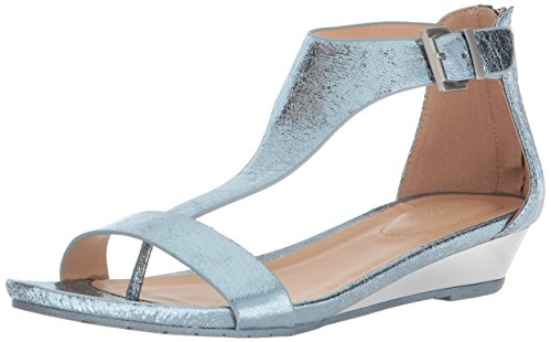 Kenneth Cole Reaction Women's Gal Low T-Strap Wedge Sandal