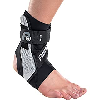 A60 Ankle Brace (Right Medium, Black)