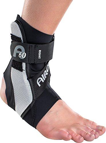 Aircast A60 Supporto per caviglia Brace, nero, medio (Misura scarpa: da uomo 7,5 - 11,5 / da donna 9 - 13)