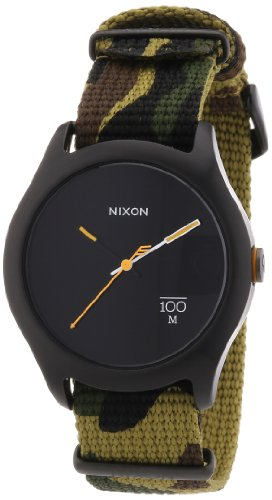 Nixon The Quad Woodland Camo Nylon Uhr (A344253)