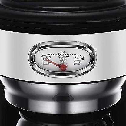 Russell-Hobbs-Kaffeemaschine-Retro-weiss-bis-10-Tassen-125l-Glaskanne-Brh-Warmhalteanzeige-im-Retrodesign