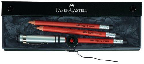 Faber-Castell 118352, Set de Lápices, Marrón, 3 Unidades