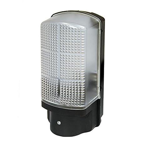 7W LED Lampe de sécurité cloison Crépuscule à l'aube Capteur cellule photoélectrique