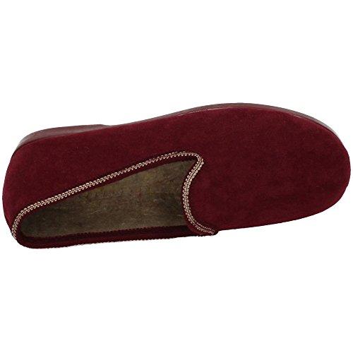 Chapines, Pantofole donna Bordeaux