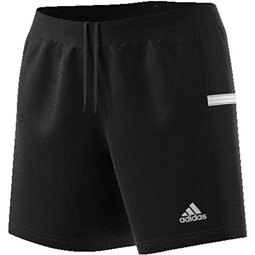 adidas Damen T19 KN W Shorts, Black/White, S - Frauen Tennis Bekleidung Adidas