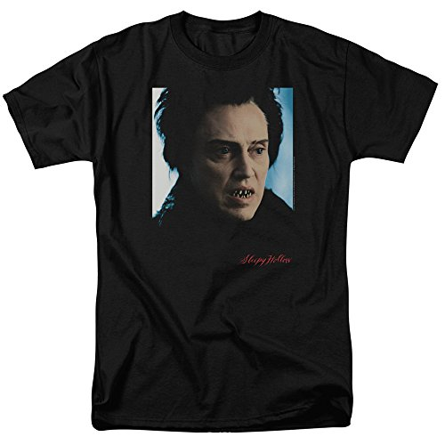 Sleepy Hollow Herren T-Shirt Opaque Schwarz Schwarz, Schwarz, PAR533-AT-1