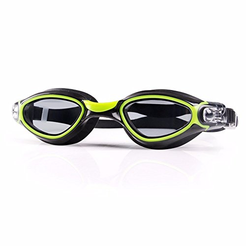 LXKMTYJ Men'S Lady Flat Waterproof And Anti-Fog Swimming Glasses Hd Adult Children'S Swimming Goggles
