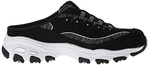 Skechers Sport D'lites Slip-on Mule Sneaker Black/White