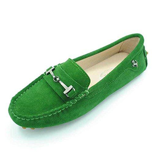 Minitoo , Espadrilles femme Vert - vert