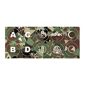 Neo Geo Arcade Stick Pro Buttons Stickers (Standard)
