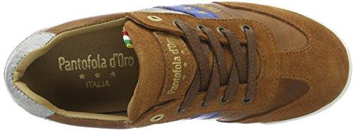 Pantofola d'Oro Vasto Ragazzi Low, chaussons d'intérieur garçon Marron écaille de tortue
