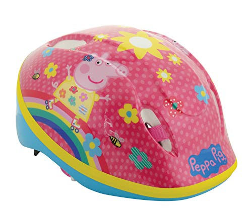 Peppa Pig - Casco de Seguridad, Casco de Seguridad, Color, tamaño 48-54 cm