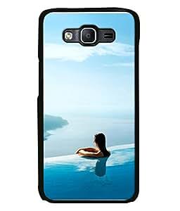PrintVisa Designer Back Case Cover for Samsung Galaxy On5 (2015) :: Samsung Galaxy On 5 G500Fy (2015) (High class Status Luxury Royal Sky Blue)