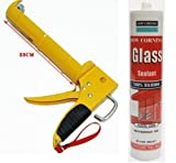 Best Waterproof Glue - DOW CORNING Silicone Glass Glue Sealant with GUN Review