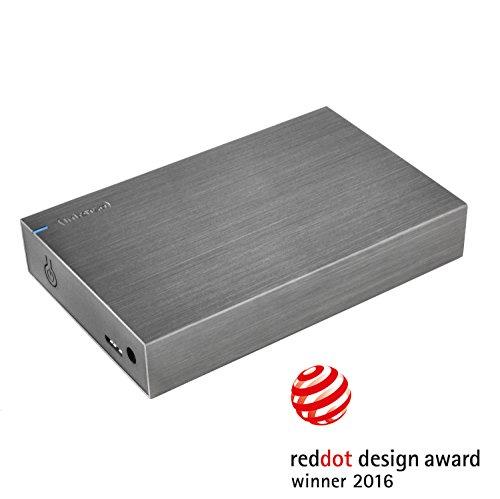 Intenso Memory Board 3 TB Externe Festplatte (8,9 cm (3,5 Zoll), 5400 rpm, 32 MB Cache, USB 3.0) Alu anthrazit