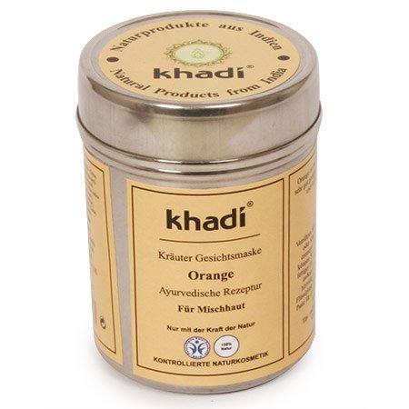 khadi-gesichtsmaske-orange-50-g