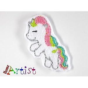 Einhorn Haarspange für Kleinkinder - freie Farbwahl