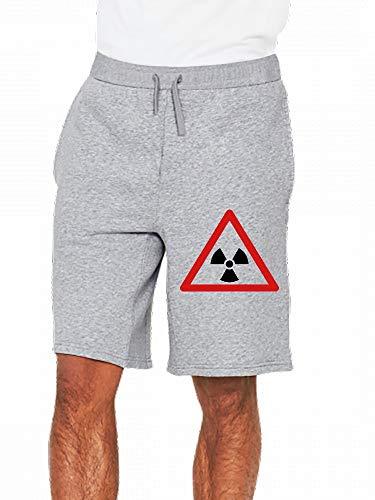 JiJingHeWang Schild Atom Mens Casual Short Trouser -
