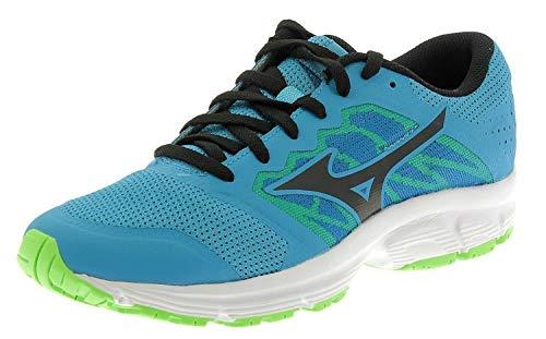 Mizuno Scarpe Running Uomo - EZRUN LX - J1GE1818-10 - BLUE JEWEL BLK 95a441b88a7