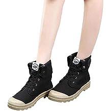 6b87a37323934 Zapatos de Lona Mujer de tacón Alto