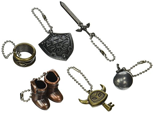 Preisvergleich Produktbild Kyodo The Legend of Zelda: A Link Between Worlds Metal Item Collection Set of 6