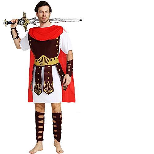 thematys Römer Krieger Gladiator Kostüm-Set für Herren - perfekt für Fasching, Karneval & Cosplay - Einheitsgröße 160-180cm (Ohne - Römischer Soldat Frau Kostüm