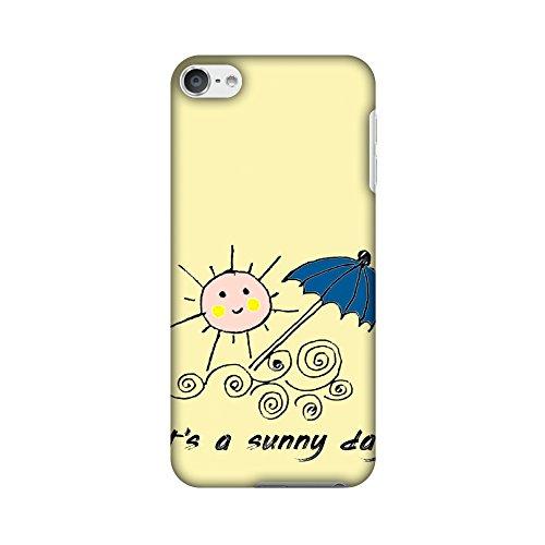 Amzer Case/Schutzhülle, handgefertigt, Designer-Hartschale, inkl. Reinigungs-Kit für iPod Touch, Sunny Day Yellow, mit Schutzhülle (Ipod-reinigungs-kit)