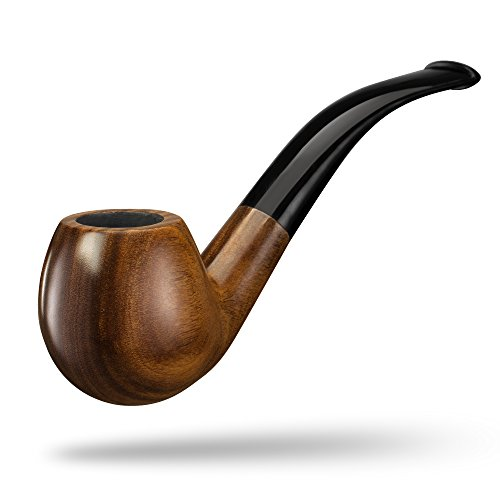 A.P. Donovan - Tabak-Pfeife klassisch handgemacht (auch für Einsteiger/Anfänger) aus Guajakholz - für 9mm Filter - Holz (Itzamná) -