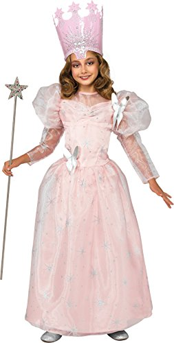 Oz Of Glinda Kostüm Wizard - The Wizard Of Oz Deluxe Glinda Costume Child Medium