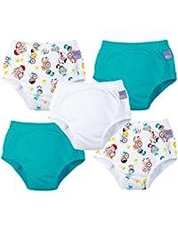 Bambino Mio, potty training pants, mixed unisex knight's kingdom, 2-3 years, 5 pack