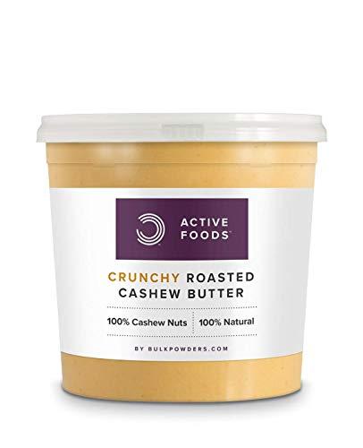 Bulk Powders Cashewbutter Crunchy, 100% reine Cashewnüsse, 1 kg