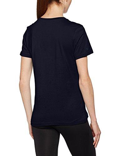 Jako T-Shirt col en Bleu - marine
