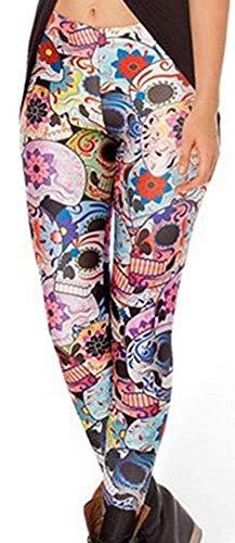 Tamskyt - Leggings Ajustados con Estampado Digital de Unicornio...