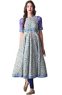 02d9c605d Material  Cotton with half sleeve   Anarkali   Ankle length