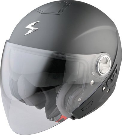 Casco Jet Moto Scooter Scorpion Exo 210Air Solid