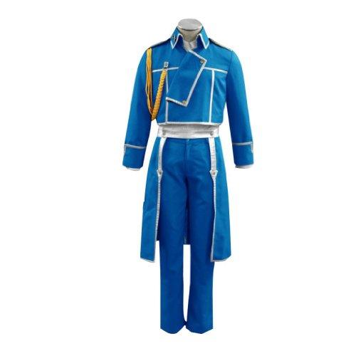 Dream2Reality japanische Anime Fullmetal Alchemist Cosplay Kostuem - Colonel Roy Mustang Uniform1st Ver Small