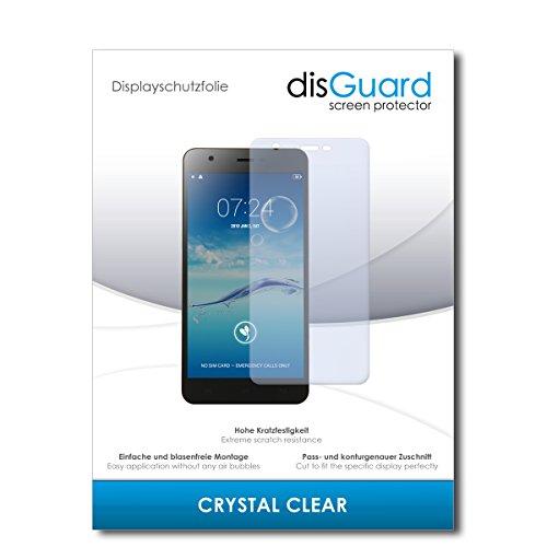 disGuard® Bildschirmschutzfolie [Crystal Clear] kompatibel mit Jiayu S3 [2 Stück] Kristallklar, Transparent, Unsichtbar, Extrem Kratzfest, Anti-Fingerabdruck - Panzerglas Folie, Schutzfolie
